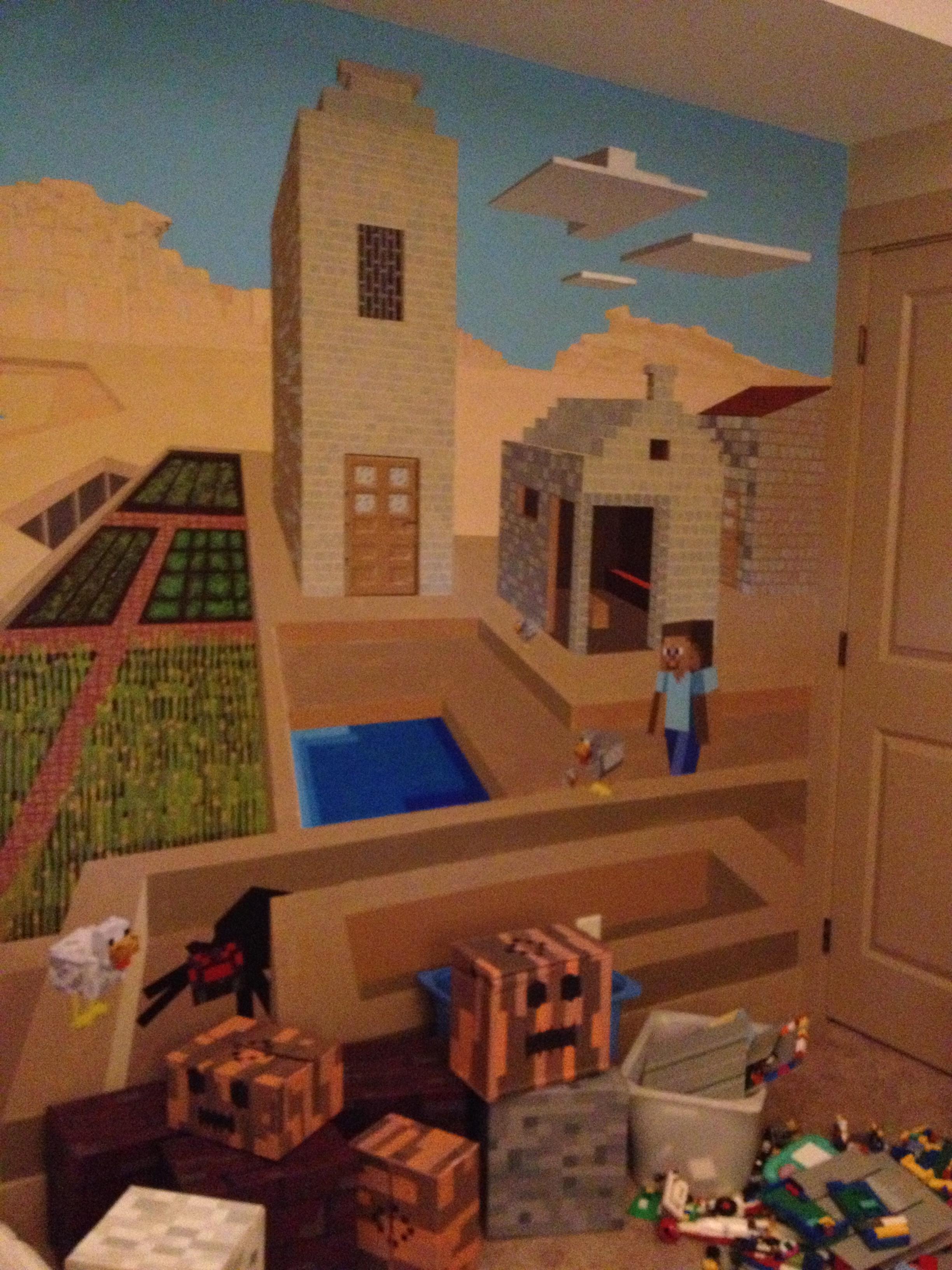 Cool Minecraft Bedroom Decor
