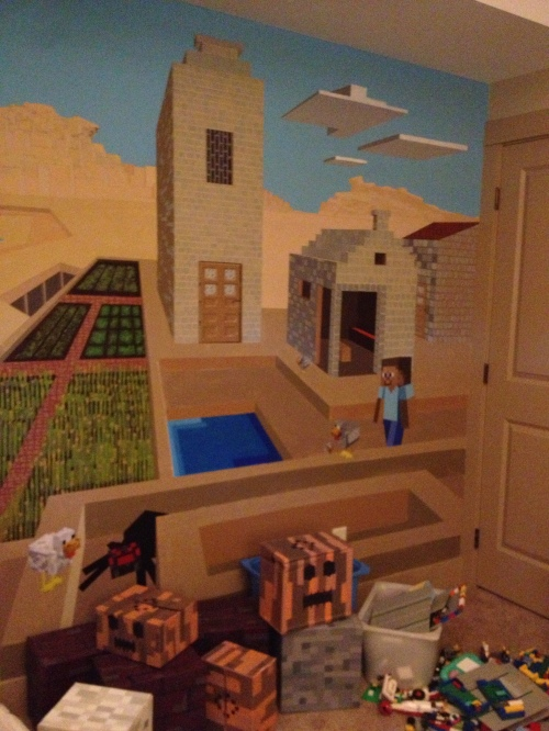 ... not that I know the first thing about the world of Minecraft... But it does look kind of cool.