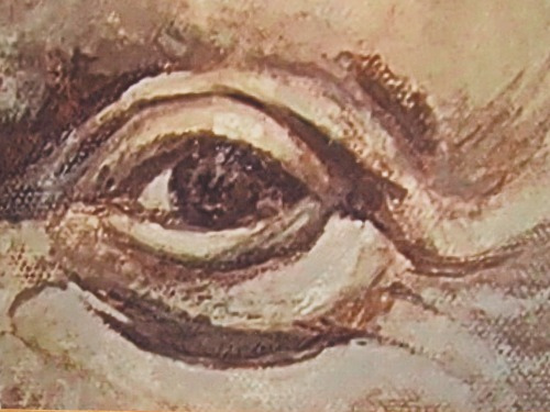 E. Colin Williams - eye detail