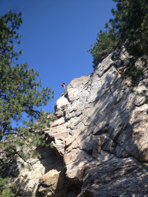Rock climbing in Skaha