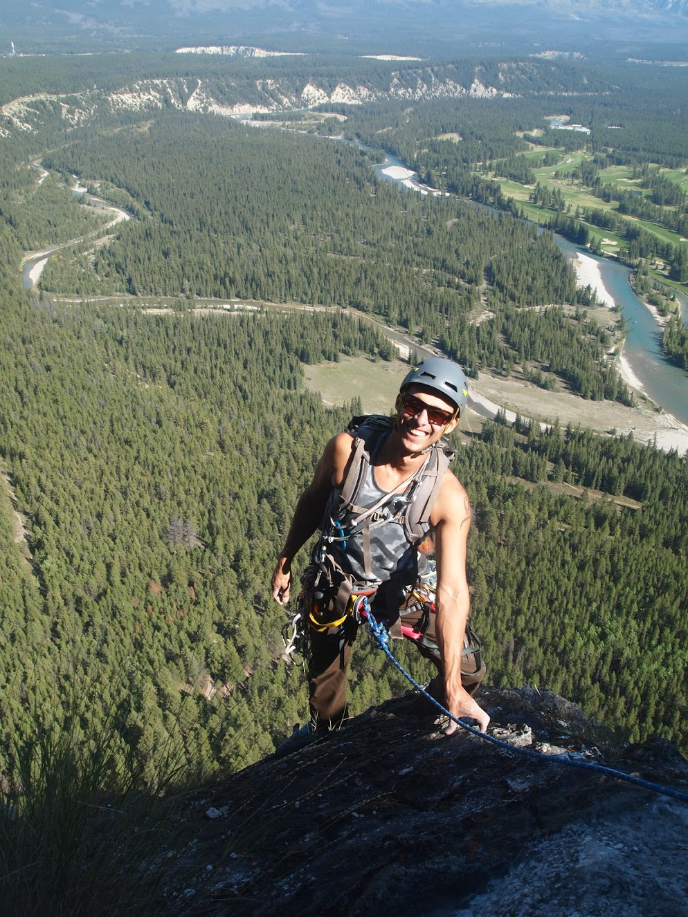 Eli   Met In Lake Louise And The Next Day Climbed Gooseberry (the Back Side
