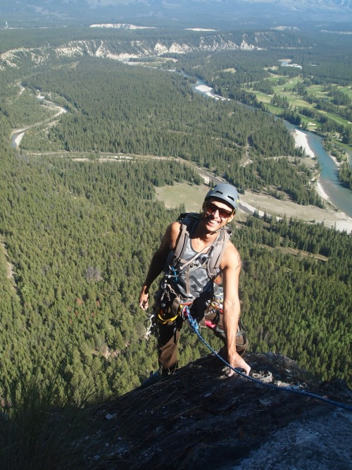 Eli - met in Lake Louise and the next day climbed Gooseberry (the back side of Tunnel Mountain in Banff)