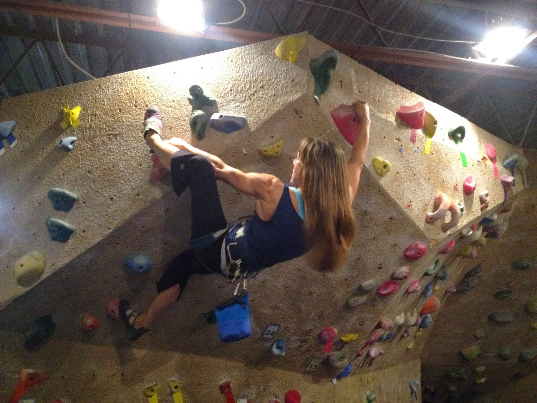 Bouldering Indoors Badly: The Dark Art Of Hauling Oneself Up A Wall Using  Fake Holds, Leaping For The Last Hold Up Under The Roof/overhang/tunnel  Entrance ...