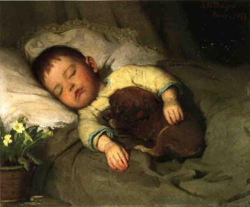 Abbott Handerson Thayer 1887 sleep-1887.jpg!Large