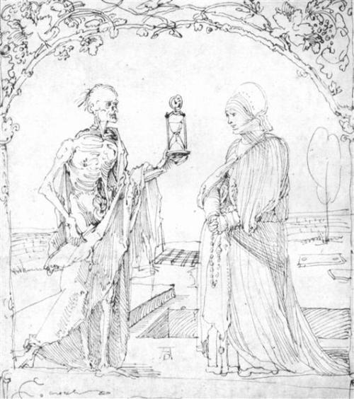Albrecht Durer 1510 death-and-wife.jpg!Large