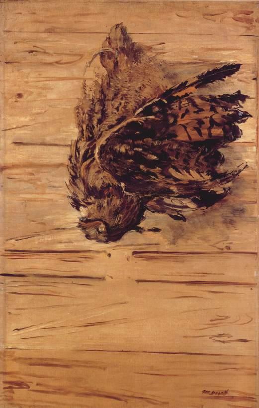 Édouard_Manet_-_Toter_Uhu Death Owl
