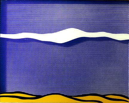 lichtenstein arctic-landscape-1964