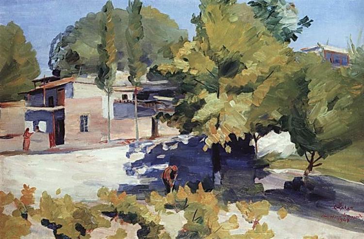 Martiros Sarian april-1947.jpg!Large