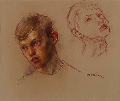 pastel-2 Robert Brackman