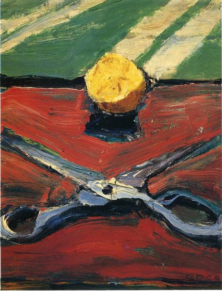 richard diebenkorn scissors-and-lemon.jpg!Large