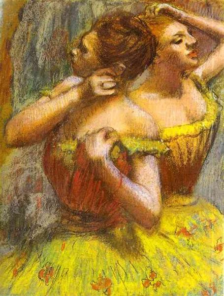 two-dancers-pastel-on-paper.jpg!Large