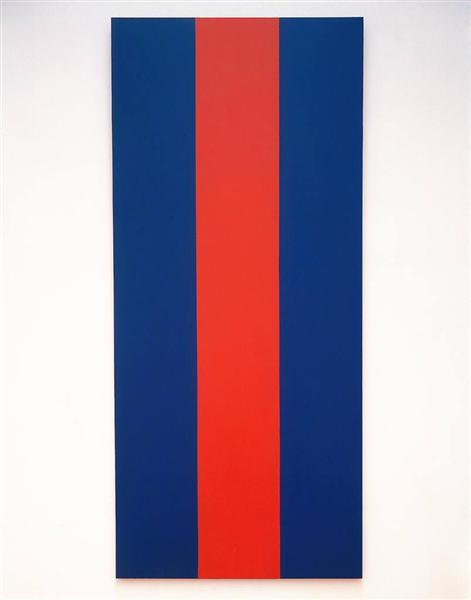 Barnett Newman 1967 voice-of-fire-1967