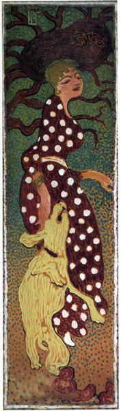 Bonnard woman-in-a-polka-dot-dress-1898.jpg!Large