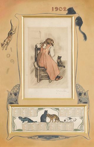 calendar-1902 Theophile Steinlen