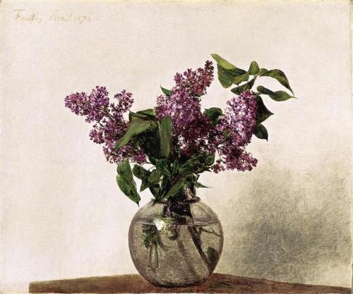 henri fantin-latour lilacs-1872
