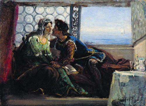 konstantin Makovsky 1890 romeo-and-juliet