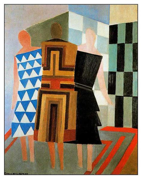 sonia delaunay three-women-dressed-simultaneously.jpg!Large