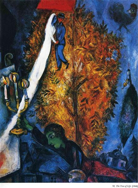 chagall 1948 the-tree-of-life-1948