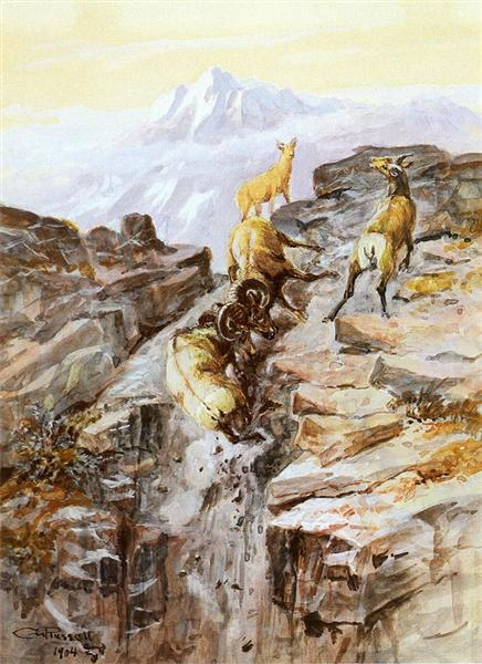 charles m russell big-horn-sheep-1904.jpg!Large