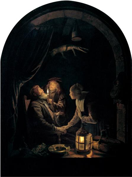 gerrit dou 1660 dentist-by-candlelight.jpg!Large
