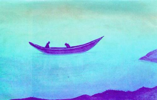 Nicholas Roerich 1939sadness-two-in-boat-1939.jpg!Large
