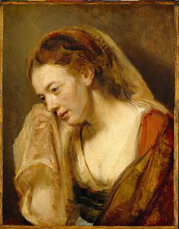 rembrandt 1644 a-woman-weeping
