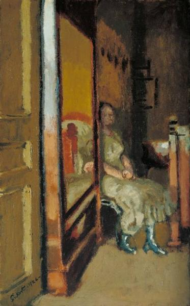 Walter Sickert 1924the-wardrobe-1924.jpg!Large